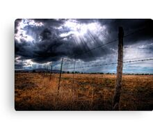 Ominous in the Valley Canvas Print
