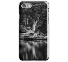 Dunns Swamp #1 - The HDR Experience - A Study In Black and White iPhone Case/Skin