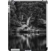 Dunns Swamp #1 - The HDR Experience - A Study In Black and White iPad Case/Skin