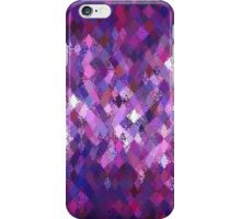 Purple Abstract Harlequin Pattern  iPhone Case/Skin