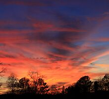 Awesome Sunset in Cleveland TN by AngelRivera