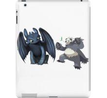 Toothless and Pokemon iPad Case/Skin