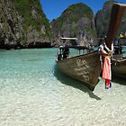 Postcard Phi Phi Paradise by Pippa Carvell
