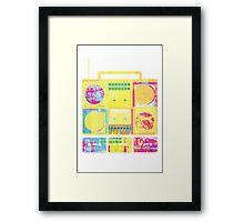 TAPEDECK Framed Print