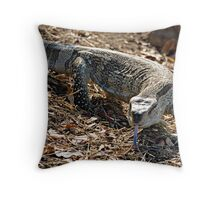 Rock Monitor Throw Pillow