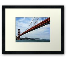 So Many Bridge Views...Here's One More! Framed Print