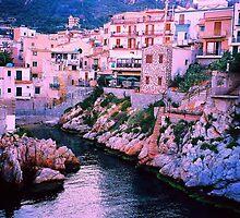 Santa Flavia. Harbor View. Sicily, Italy 2005 by Igor Pozdnyakov