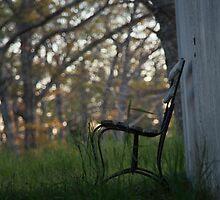 Graveyard Bench by Joy Hurlburt