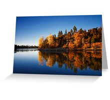Lynx Lake Fall Greeting Card