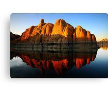 Reflection Rock Canvas Print