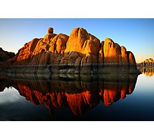 Reflection Rock Photographic Print