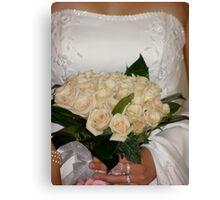bridal beauty Canvas Print