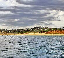 Jan Juc beach by Andy Berry