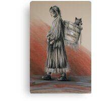 The Gatherer Canvas Print