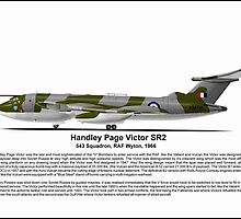 Handley Page Victor SR2 Profile by coldwarwarrior