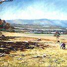Tallarook Landscape by Lynda Robinson