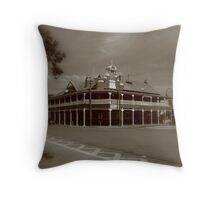 West Aussie Country Pub Throw Pillow