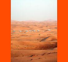 a large United Arab Emirates landscape Unisex T-Shirt