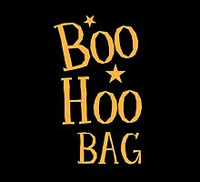 BOO HOO Bag (Anti-Halloween funny design) by jazzydevil