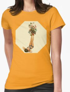 her feet turned into a beautiful bouquet of flowers T-Shirt