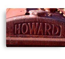 Howard - NSW Canvas Print
