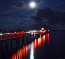 Pedro's Christmas Pier by Franklin Lindsey