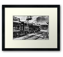 No.45212 Leaving Levisham Station Framed Print