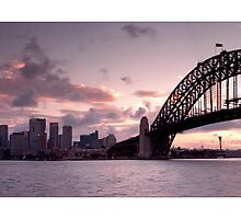 sydney harbour bridge, kirribilli by Photo Galleria  Australia