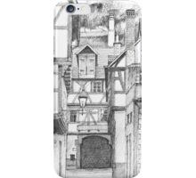 Miltenberg Half-Timbered Houses, Germany iPhone Case/Skin