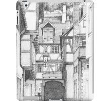 Miltenberg Half-Timbered Houses, Germany iPad Case/Skin