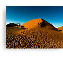 Climbing Dune 45 Canvas Print