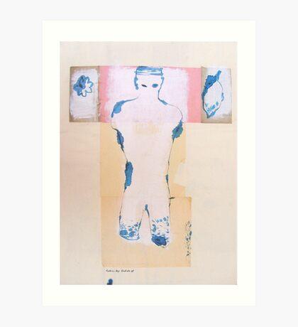 still walking (2) Art Print