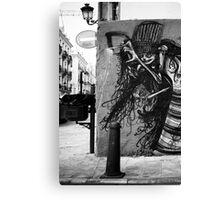 el arte de la calle Canvas Print