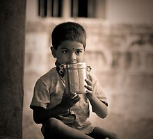 boy and the lunch box by Dinni H