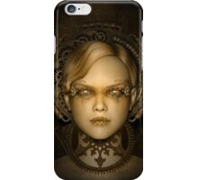 Steampunk female machine iPhone Case/Skin