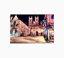 Lincoln Cathedral At Night Unisex T-Shirt