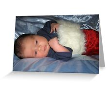 Our Newest Addition Baby Elijah Greeting Card