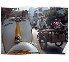 Vietnam - Saïgon (HCMV) Poster
