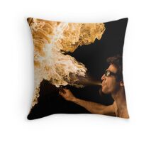Burning is not a crime #01 Throw Pillow