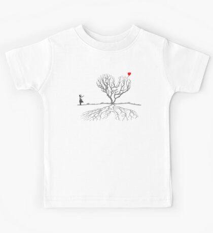 Banksy Heart Tree Kids Tee