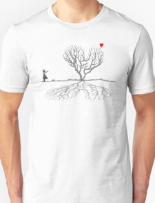 Banksy Heart Tree T-Shirt