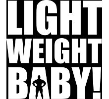Light Weight Baby! Photographic Print