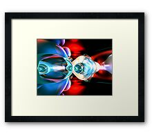 Implosion Abstract Framed Print