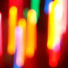 Abstract Christmas Lights by angelandspot