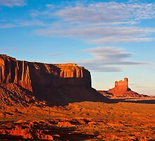 Sentinel Mesa Sunset by Nickolay Stanev