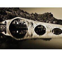 il Ponte del Diavolo, near Lucca, Italy Photographic Print
