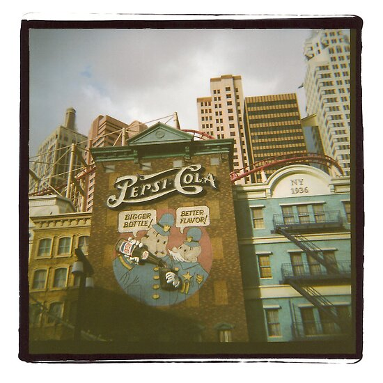 Medium Format Photography: Pepsi-cola by brightfizz
