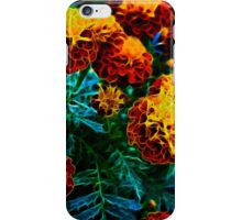 Flowers a glow glow iPhone Case/Skin