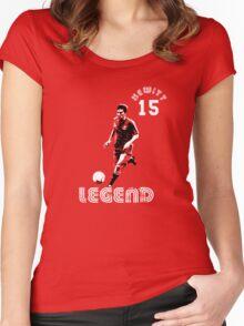Aberdeen legend John Hewitt Women's Fitted Scoop T-Shirt