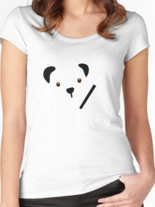 Izzy Wizzy, Let's Get Busy Women's Fitted Scoop T-Shirt